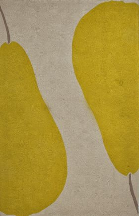 Jaipur Contemporary Rugs Grant I-O Yellow 14821