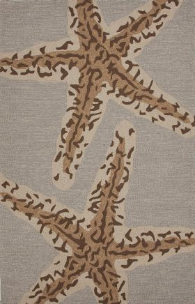 Jaipur Contemporary Rugs Grant I-O Brown 14825