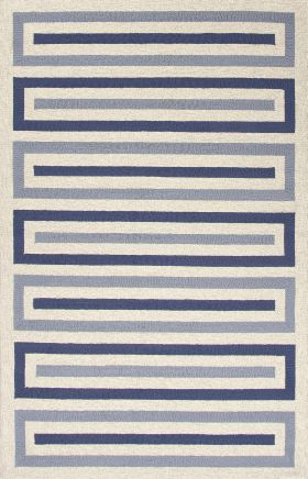 Jaipur Transitional Rugs Grant I-O Blue 14827