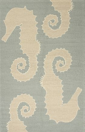 Jaipur Contemporary Rugs Grant I-O Blue 14831