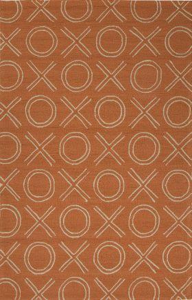 Jaipur Transitional Rugs Grant I-O Orange 14834