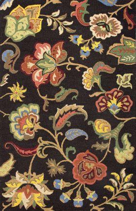 Jaipur Floral Rugs Hacienda Multicolor 14839