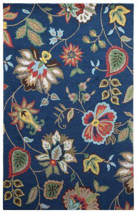 Jaipur Floral Rugs Hacienda Multicolor 14841