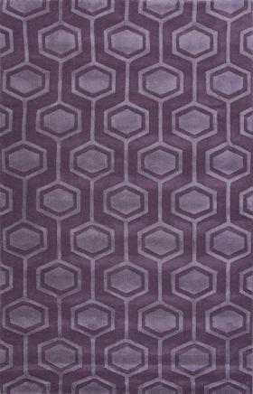 Jaipur Transitional Rugs Lounge Purple 14930