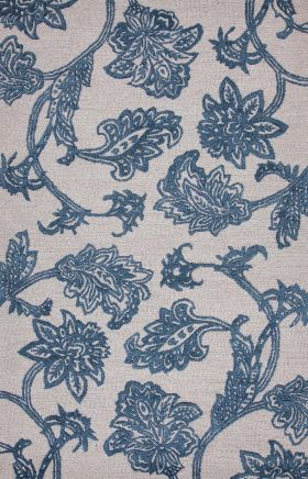 Jaipur Floral Rugs Midtown Raymond Ivory 14959