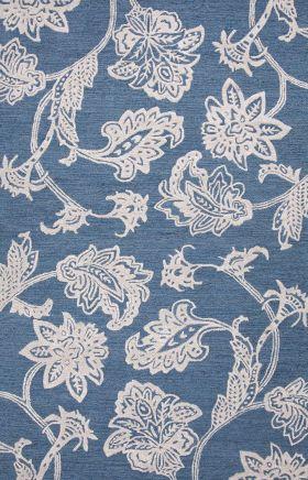 Jaipur Floral Rugs Midtown Raymond Blue 14960