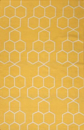 Jaipur Transitional Rugs Maroc Yellow 15026