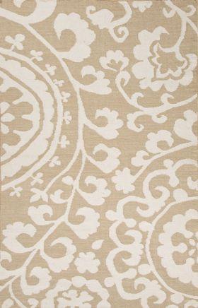 Jaipur Floral Rugs Maroc Beige 15030