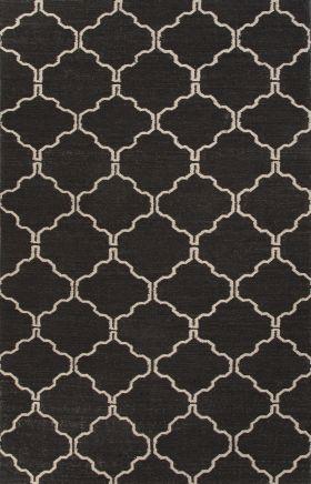 Jaipur Transitional Rugs Maroc Black 15033
