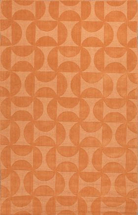 Jaipur Solid Rugs Metro Orange 15064