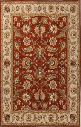 Jaipur Oriental Rugs Mythos Red 15083