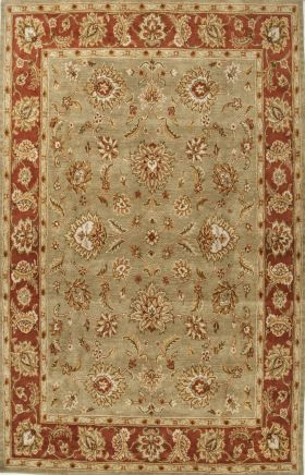 Jaipur Oriental Rugs Mythos Red 15084