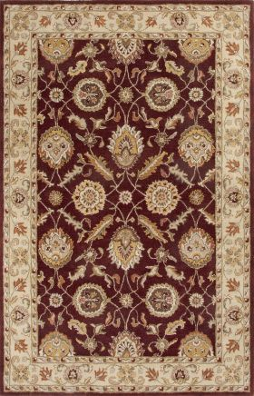Jaipur Oriental Rugs Mythos Red 15087