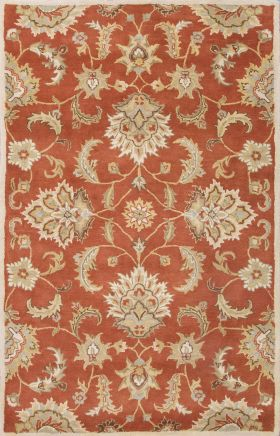 Jaipur Oriental Rugs Mythos Red 15090