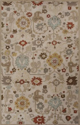 Jaipur Transitional Rugs Narratives Ivory 15098