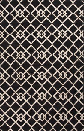 Jaipur Transitional Rugs Patio Black 15129