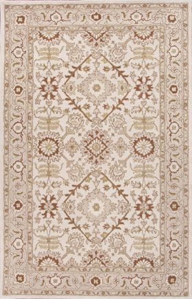 Jaipur Oriental Rugs Poeme Red 15144