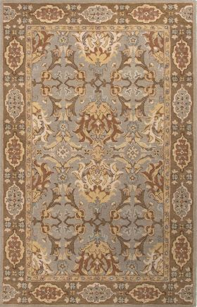 Jaipur Oriental Rugs Poeme Brown 15145
