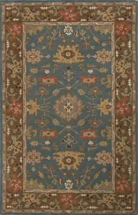 Jaipur Oriental Rugs Poeme Brown 15146