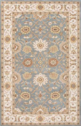 Jaipur Oriental Rugs Poeme Blue 15153