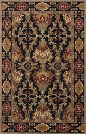 Jaipur Oriental Rugs Poeme Red 15154