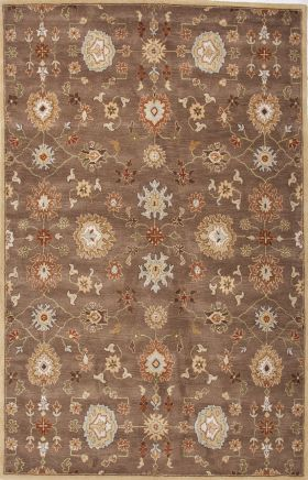 Jaipur Oriental Rugs Poeme Red 15157