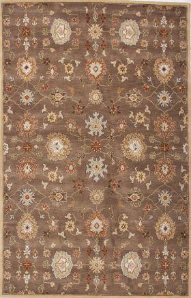 Jaipur Oriental Rugs Poeme Red 15157
