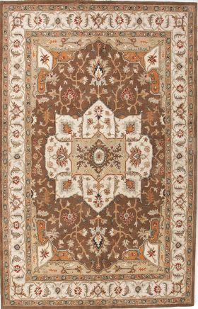 Jaipur Oriental Rugs Poeme Brown 15163
