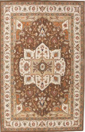 Jaipur Oriental Rugs Poeme Brown 15163