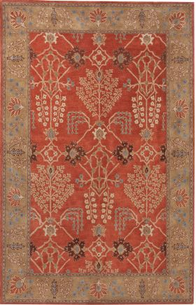 Jaipur Transitional Rugs Poeme Orange 15165