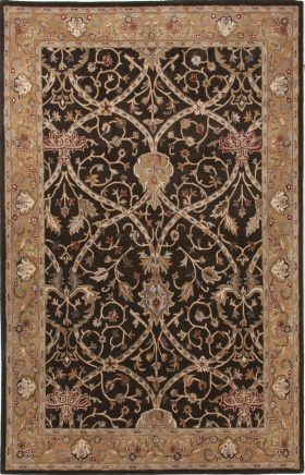 Jaipur Oriental Rugs Poeme Brown 15173