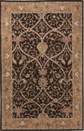 Jaipur Oriental Rugs Poeme Brown 15173
