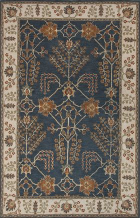 Jaipur Transitional Rugs Poeme Blue 15176