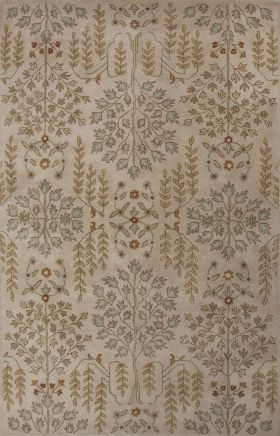 Jaipur Transitional Rugs Poeme Ivory 15177