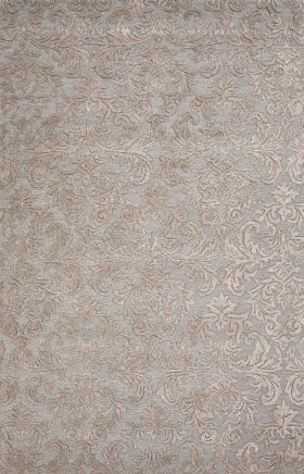 Jaipur Transitional Rugs Roccoco Blue 15217