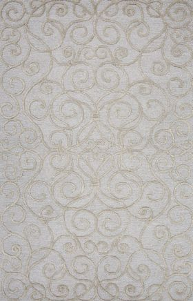 Jaipur Transitional Rugs Roccoco Gray 15219