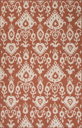 Jaipur Transitional Rugs Urban Bungalow Red 15297