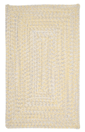 Colonial Mills Braided Rugs Catalina Yellow 15403