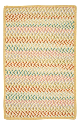 Colonial Mills Braided Rugs Color Frenzy Yellow 15420