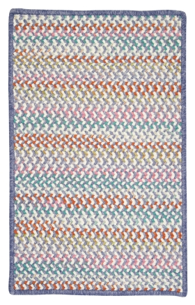 Colonial Mills Braided Rugs Color Frenzy Purple 15425