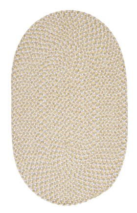 Colonial Mills Braided Rugs Confetti Yellow 15427