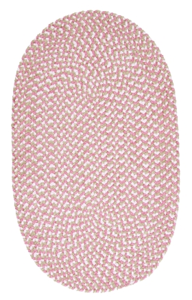 Colonial Mills Braided Rugs Confetti Pink 15431