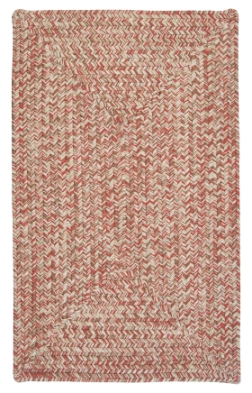 Colonial Mills Braided Rugs Corsica Red 15438