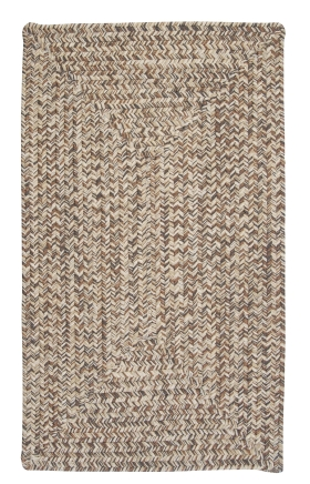 Colonial Mills Braided Rugs Corsica Gray 15439