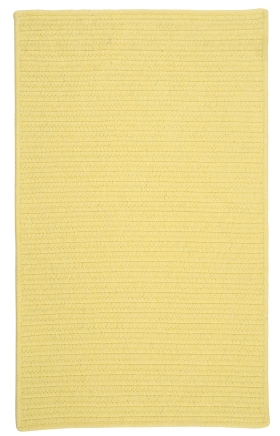Colonial Mills Braided Rugs Courtyard Yellow 15451