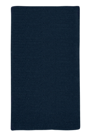 Colonial Mills Braided Rugs Courtyard Blue 15454