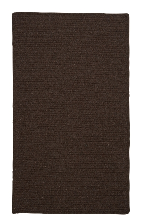 Colonial Mills Braided Rugs Courtyard Brown 15457