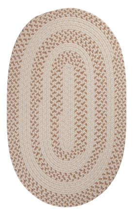 Colonial Mills Braided Rugs Elmwood Gold 15470