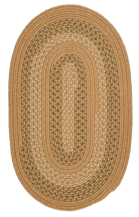 Colonial Mills Braided Rugs Georgetown Gold 15487