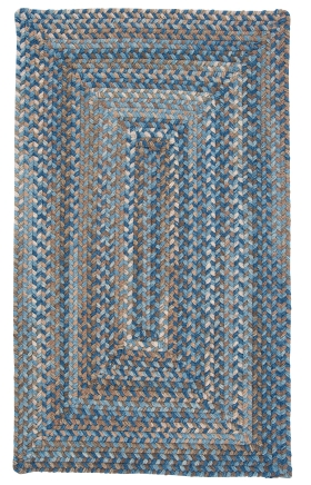 Colonial Mills Braided Rugs Gloucester Blue 15490